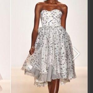 Lela Rose Polka Dot Dress